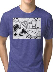 Characters  Tri-blend T-Shirt