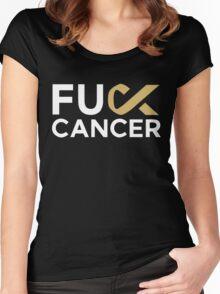 Martin Garrix - Fu*k Cancer Women's Fitted Scoop T-Shirt