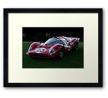1967 Ferarri 330 P3/4 Framed Print