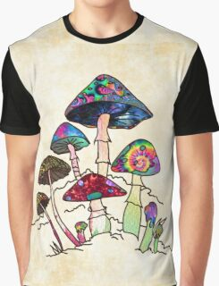Garden of Shroomz Graphic T-Shirt