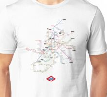 madrid subway Unisex T-Shirt