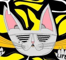 Gangsta Cat Sticker