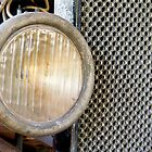 Old Model T Headlight and Radiator by Kenneth Keifer