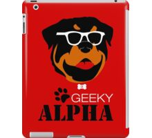 Geeky Alpha iPad Case/Skin
