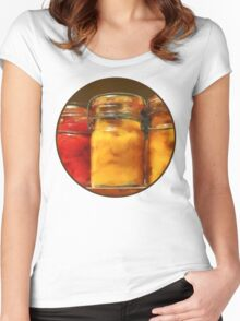 Canned Tomatoes and Peaches Women's Fitted Scoop T-Shirt