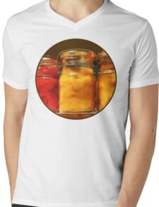 Canned Tomatoes and Peaches Mens V-Neck T-Shirt