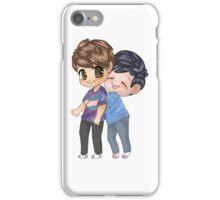 Dan and Phil Hugging iPhone Case/Skin