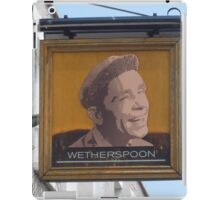 Norman Wisdom - A Real Legend iPad Case/Skin