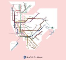 new york subway One Piece - Short Sleeve