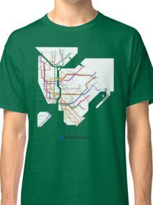 new york subway Classic T-Shirt