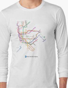 new york subway Long Sleeve T-Shirt