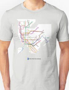 new york subway Unisex T-Shirt