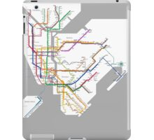 new york subway iPad Case/Skin