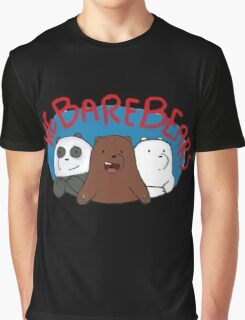 We Bare Bears Graphic T-Shirt