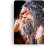 Aboriginal fullblood portrait Metal Print