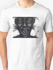 Screaming on the inside Unisex T-Shirt