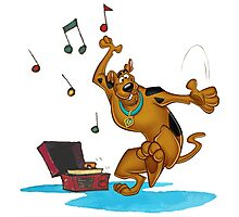 scooby music dance Photographic Print
