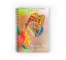 REMAIN LOYAL TO JEHOVAH! (Design no. 13) Spiral Notebook