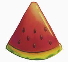 Watermelon Slice Kids Tee