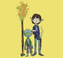 gavin and goblin... One Piece - Short Sleeve