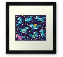 I believe in magic Framed Print