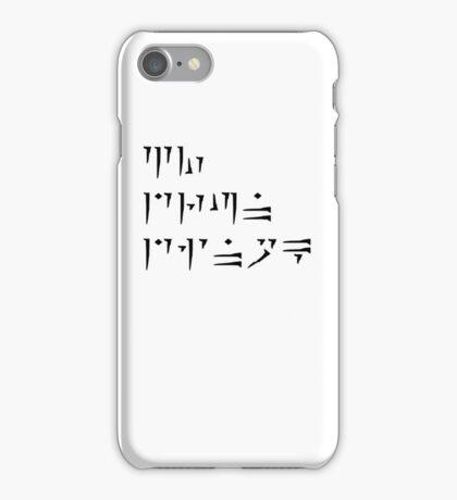 Zu'u drun dinok - I bring Death - IPod/IPhone Cases iPhone Case/Skin