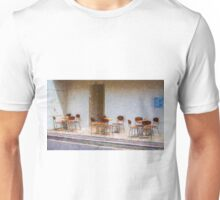 Tables and chairs Unisex T-Shirt