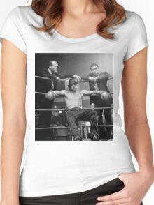 bad pitt Women's Fitted Scoop T-Shirt