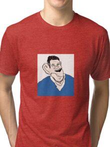 Matt Smith Bad Drawing Tri-blend T-Shirt