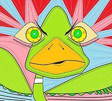 Crazy Duck by BRautman