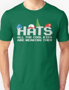 Cool Kids Wear Hats Unisex T-Shirt