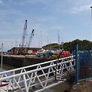 Watchet Harbour (2) by kalaryder