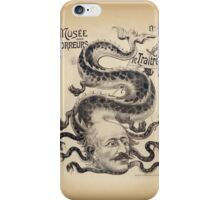 Musée de horror ! iPhone Case/Skin