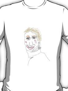 Jennifer Lawrence Bad Drawing T-Shirt