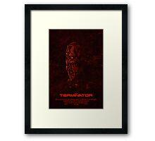 "Movie Poster - ""TERMINATOR"" (v1) Framed Print"