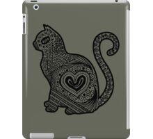 Cat Pop BW iPad Case/Skin