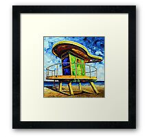 Only in Miami by Lisa Elley Framed Print