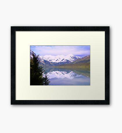 Alaskan Peaks Framed Print
