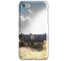 Abandoned School House in Finland iPhone Case/Skin