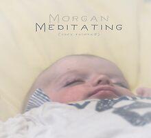 Morgan Meditating 2 © Vicki Ferrari by Vicki Ferrari