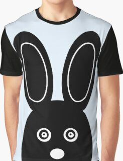 Bunny Boo - Blue Graphic T-Shirt