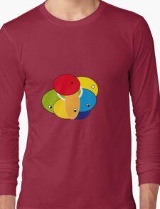 Round Eyes Long Sleeve T-Shirt
