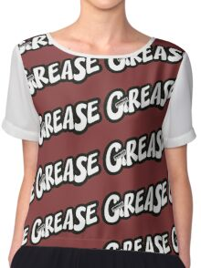 grease Chiffon Top