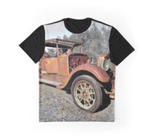 Rusty Old Rescue Warrior Graphic T-Shirt