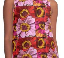 Flower Power Contrast Tank
