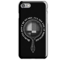 PVRIS MIRRORS (White) iPhone Case/Skin