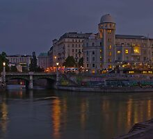 Evening at Urania on Kanal by PeachPark