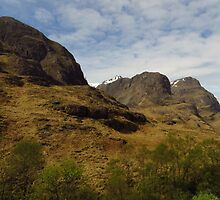 The Three Sisters, Glen Coe by wiggyofipswich
