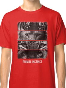 Primal Instinct - version 2 - with text Classic T-Shirt