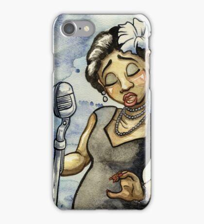 Billie Holiday iPhone Case/Skin